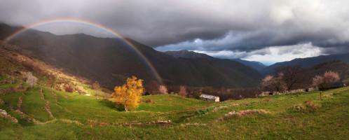 Arcobaleno a Drego (Valle Argentina)