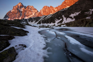 Lago superiore del Monviso